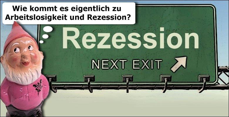 Arbeitslosigkeit Rezession